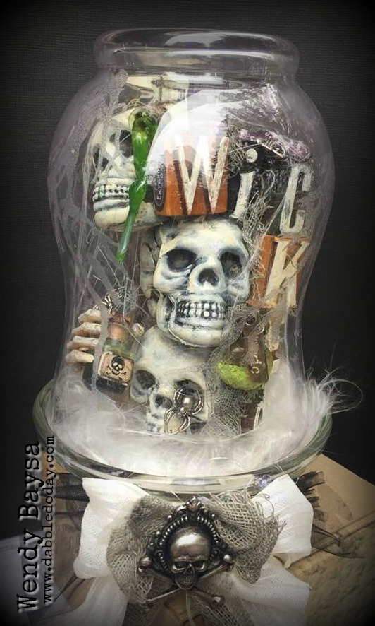 Wicked Skulls Cloche (7)WM