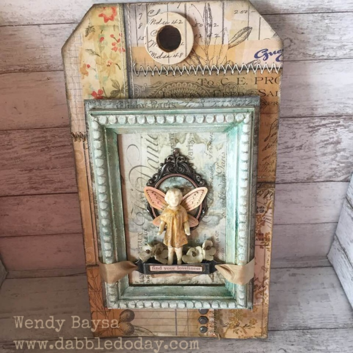 creativation2019 tim holtz 'find your lovliness' tag (2) (1)wm